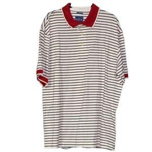 FACONNABLE Faco Club Polo Shirt Mens Sz XXL Red